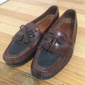 Johnston & Murphy Mens Leather Tassel Loafer